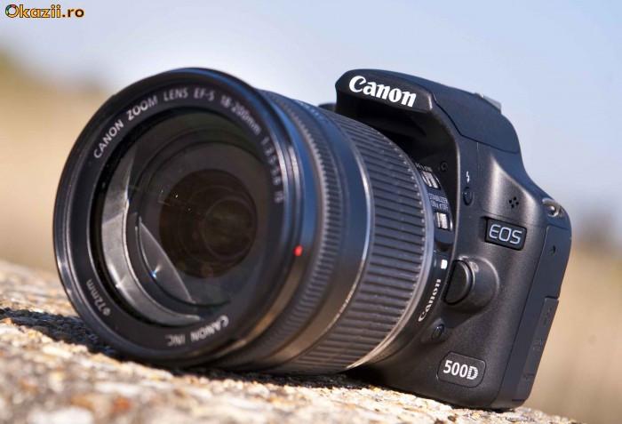 Камера EOS 500D обеспечивает скорость съемки до 3.4 кадров/с при...